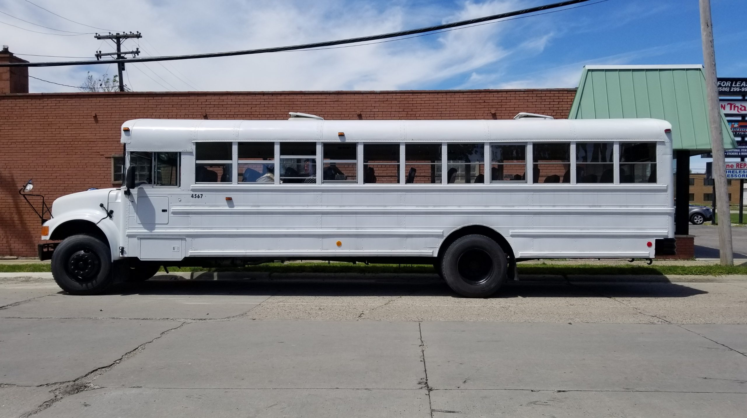 Peacemakers International - Bus Tail Wrap - 01