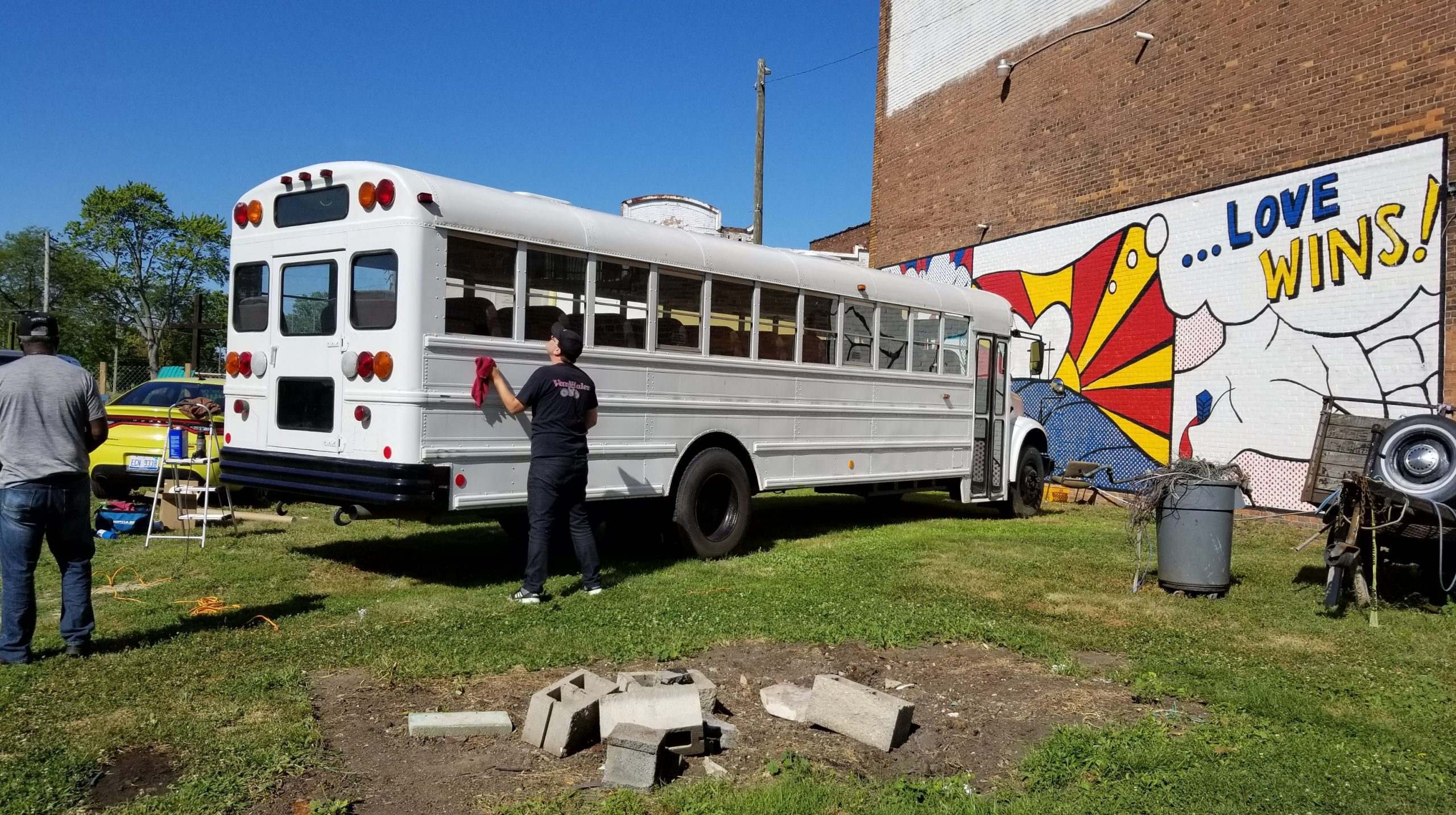 Peacemakers International - Bus Tail Wrap - 02