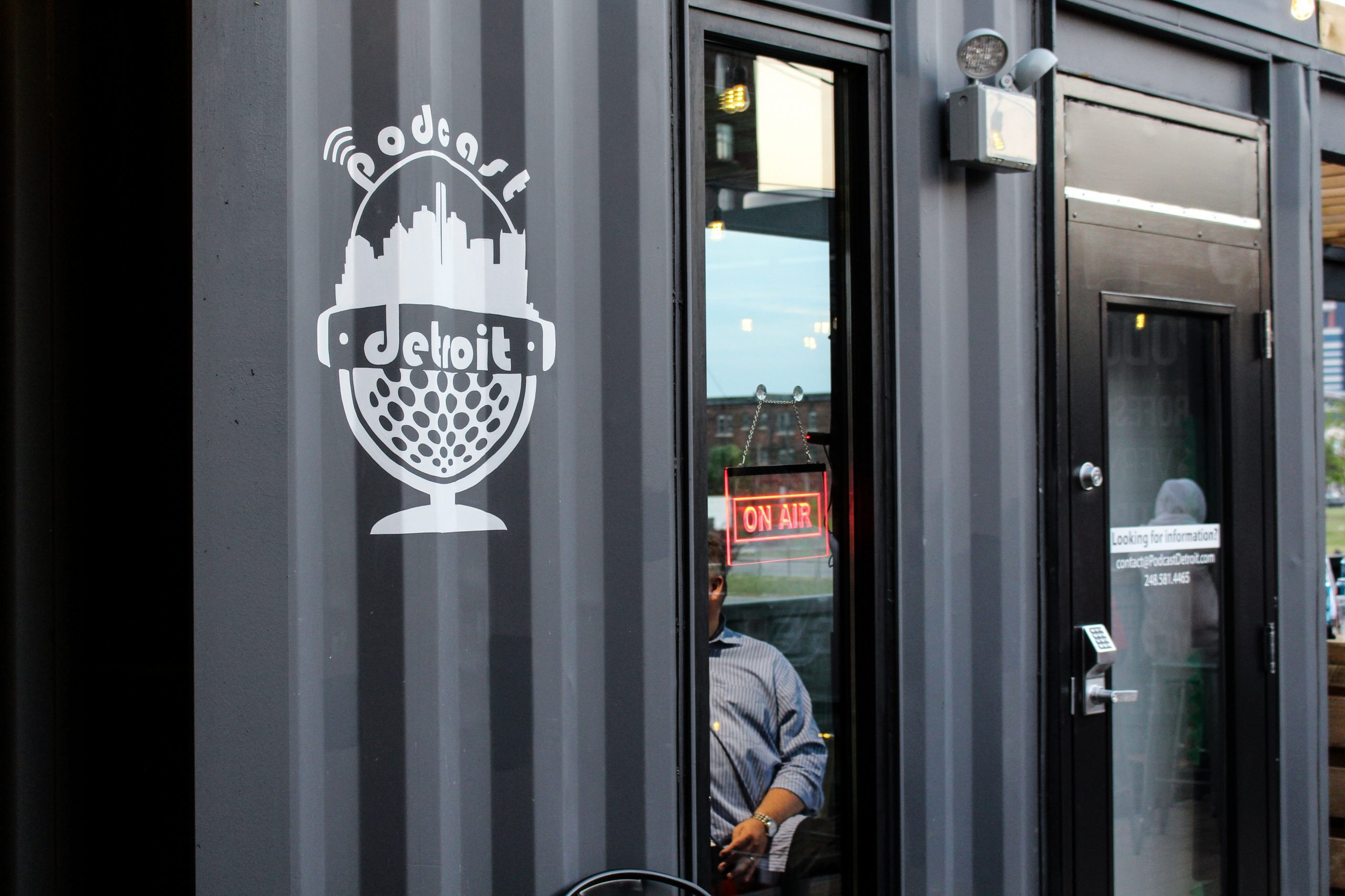 Podcast Detroit - Detroit Shipping Co - Grand Opening
