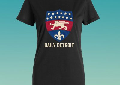 Daily Detroit - Shirt Mockup