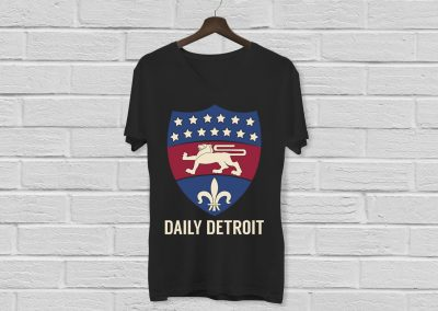 Daily Detroit - Silkscreen Shirt Mockup 01