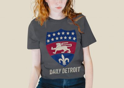 Daily Detroit - Silkscreen Shirt Mockup 03