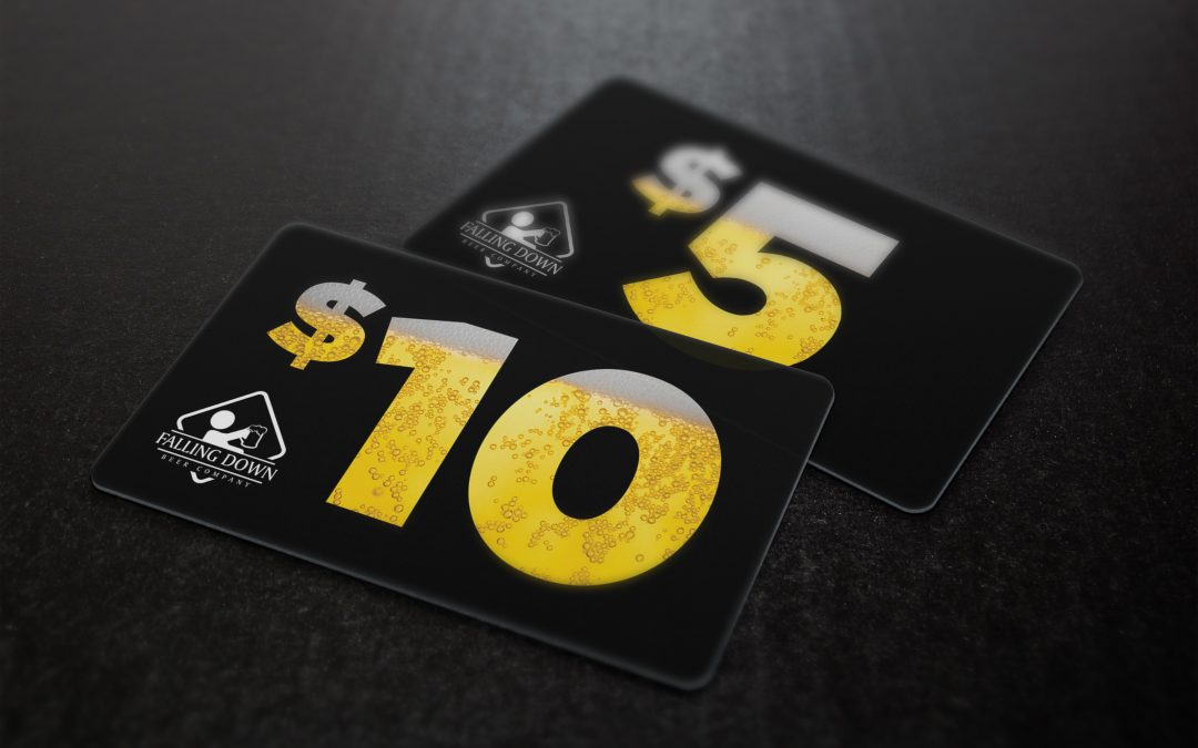 Falling Down Beer Co – Gift Cards