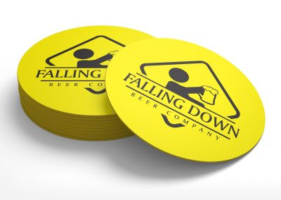 Falling Down Beer Company – Coasters