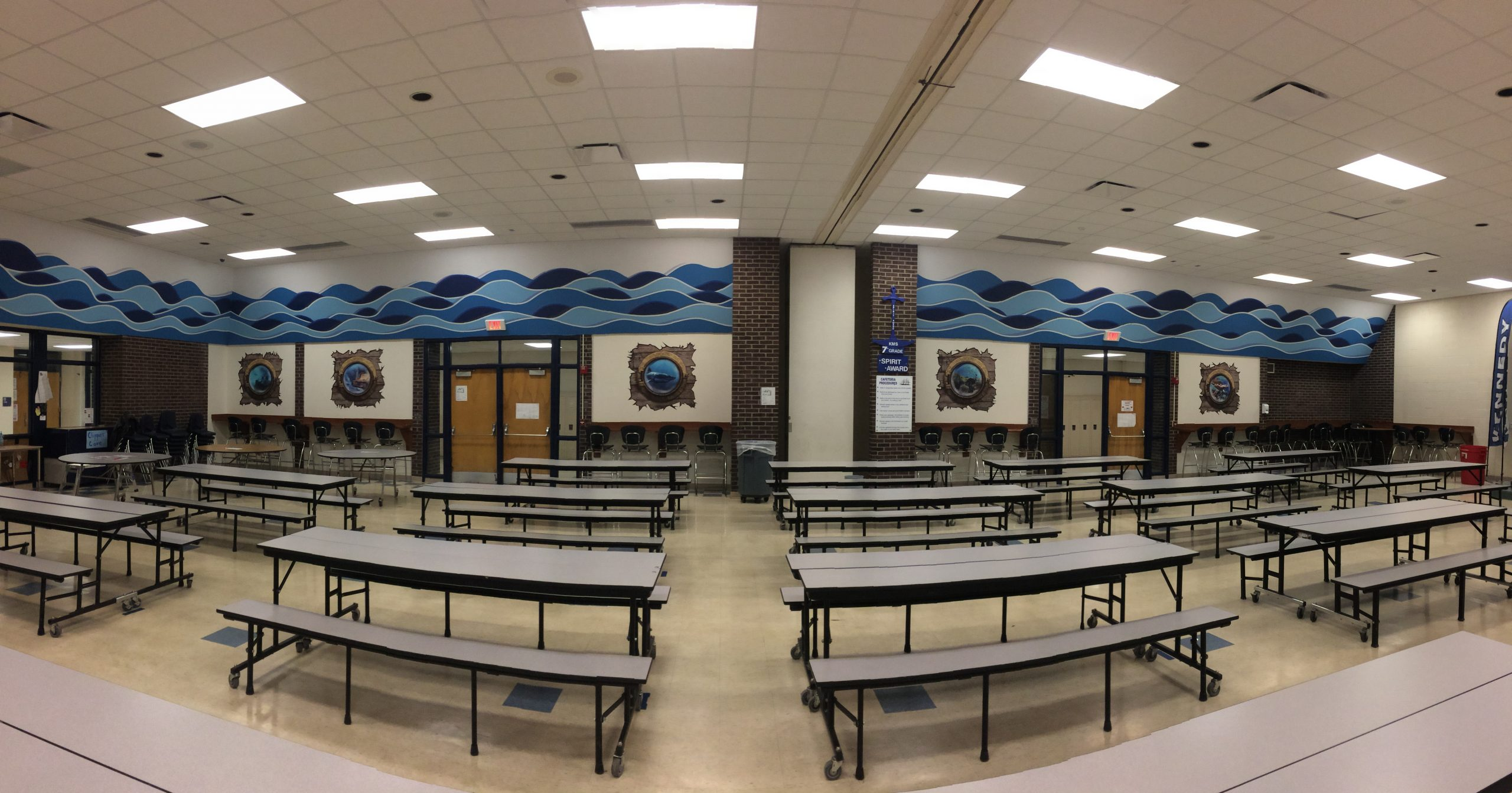 Kennedy Middle School Cafeteria - 00