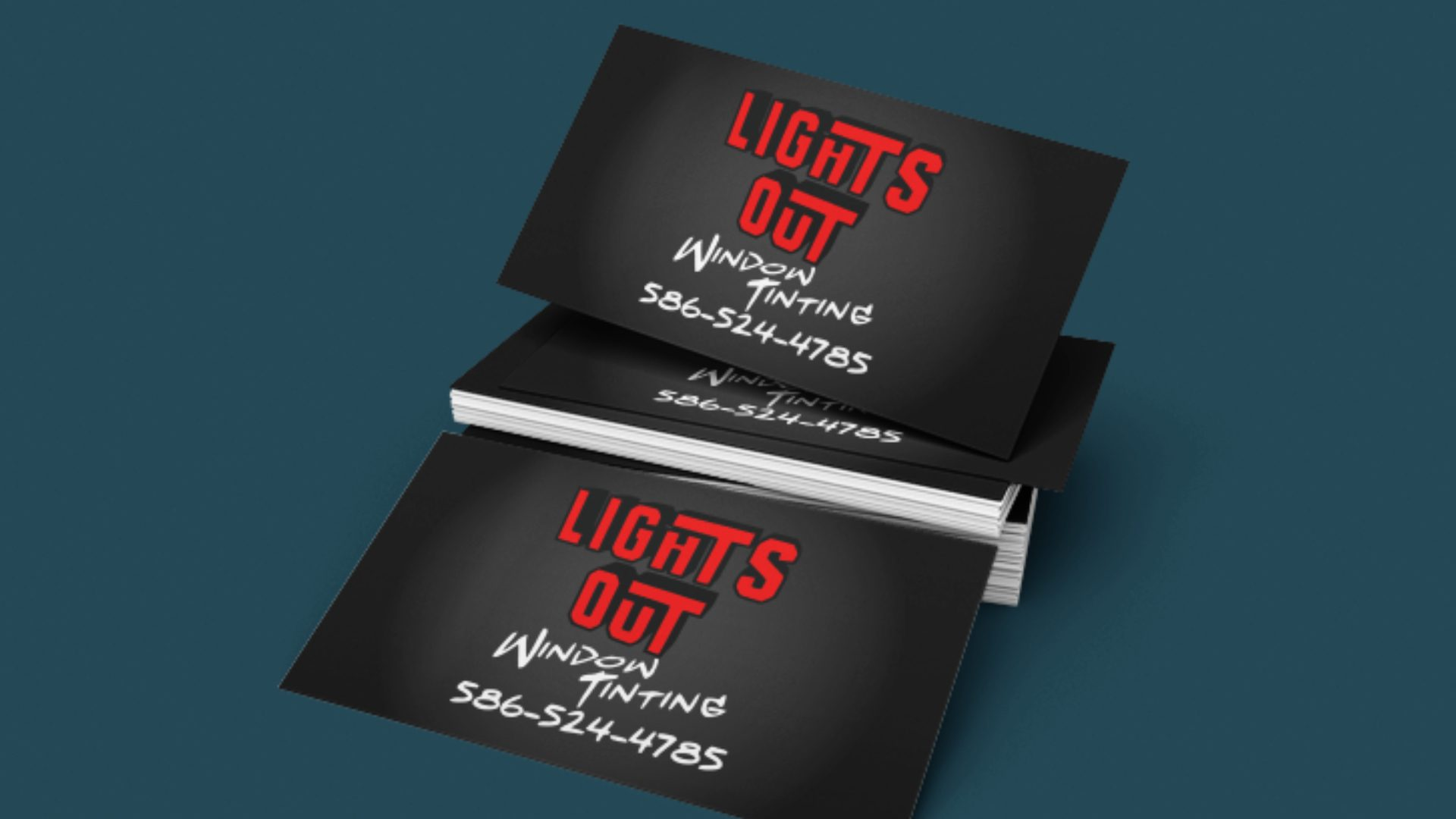 Lights Out Window Tinting - Business Card Mockup (5)