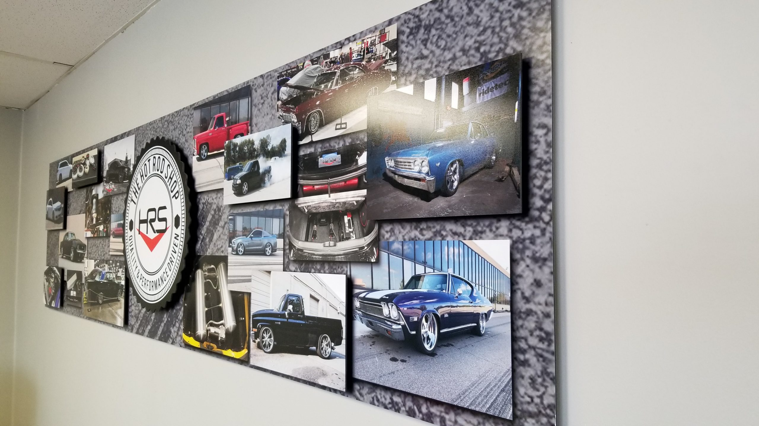 The Hot Rod Shop - Dimensional Sign - 06