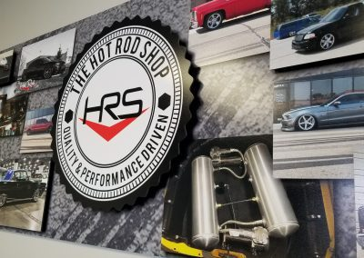 The Hot Rod Shop – Dimensional Sign