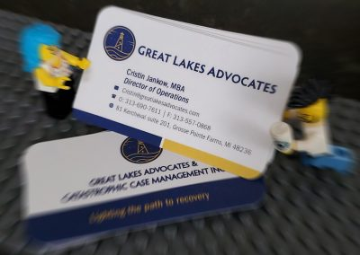Great Lakes Advocates – Staff Business Cards