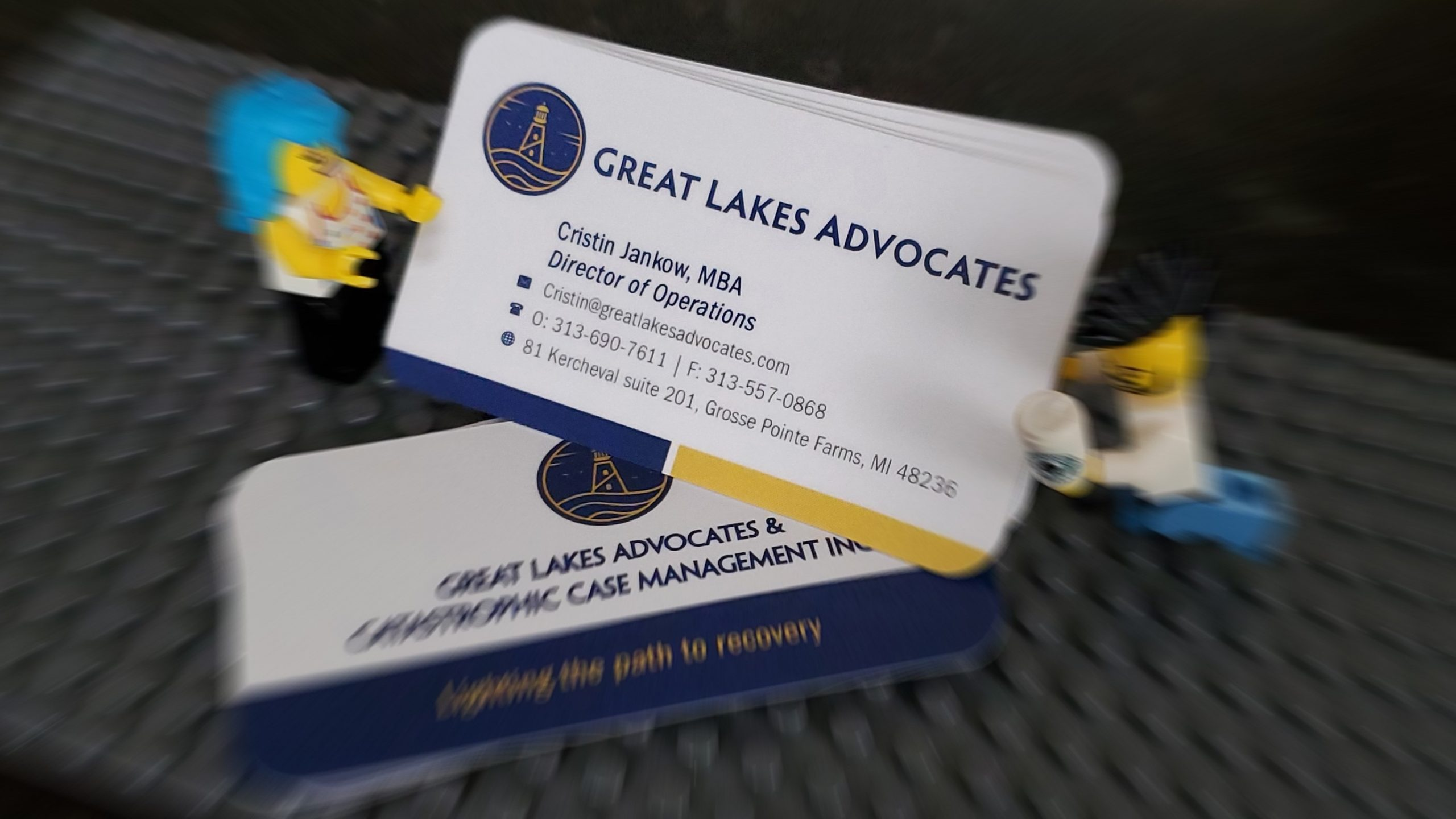 Great Lakes - Business Card Lego 01