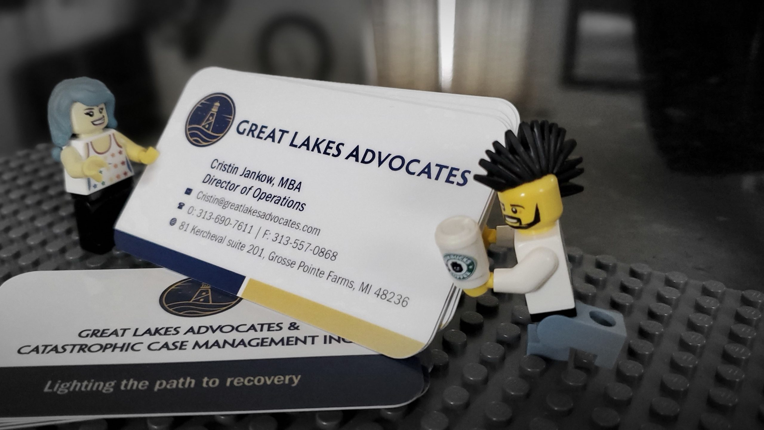 Great Lakes - Business Card Lego 02