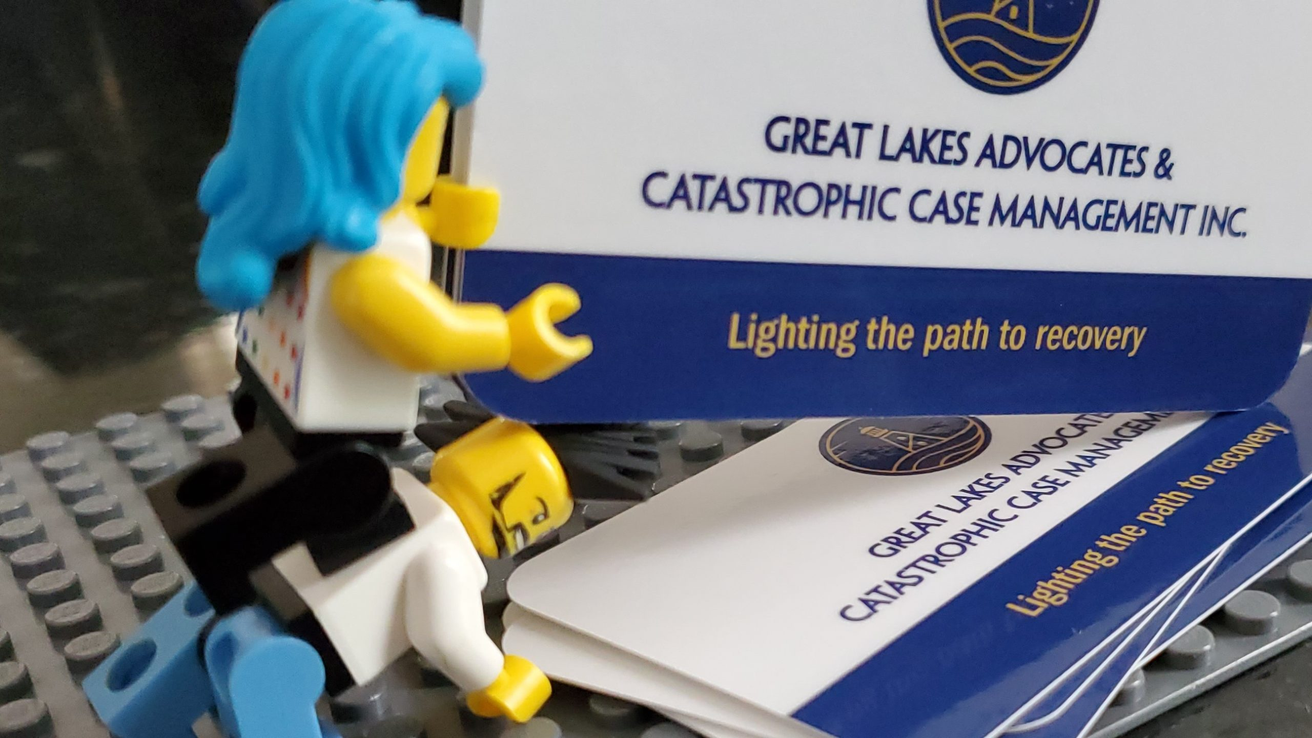 Great Lakes - Business Card Lego 08