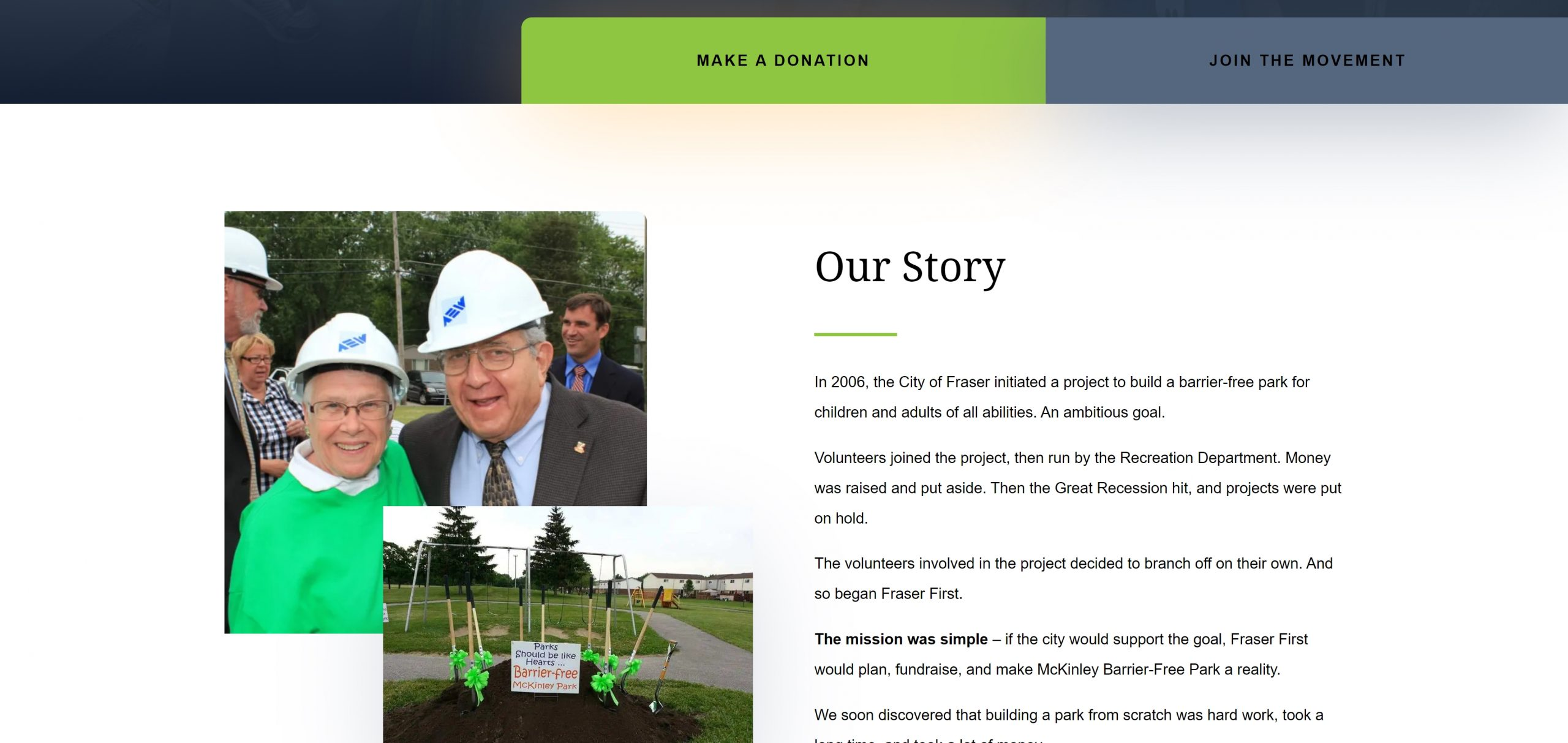 FFBC - Website About Page - Our Story