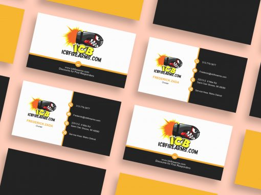 ICB Firearms – Business Cards