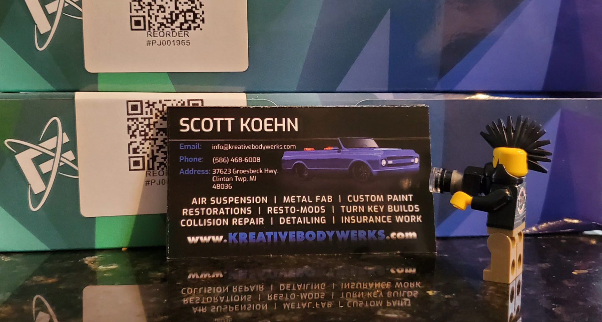 KBW - Gloss Business Cards (1)