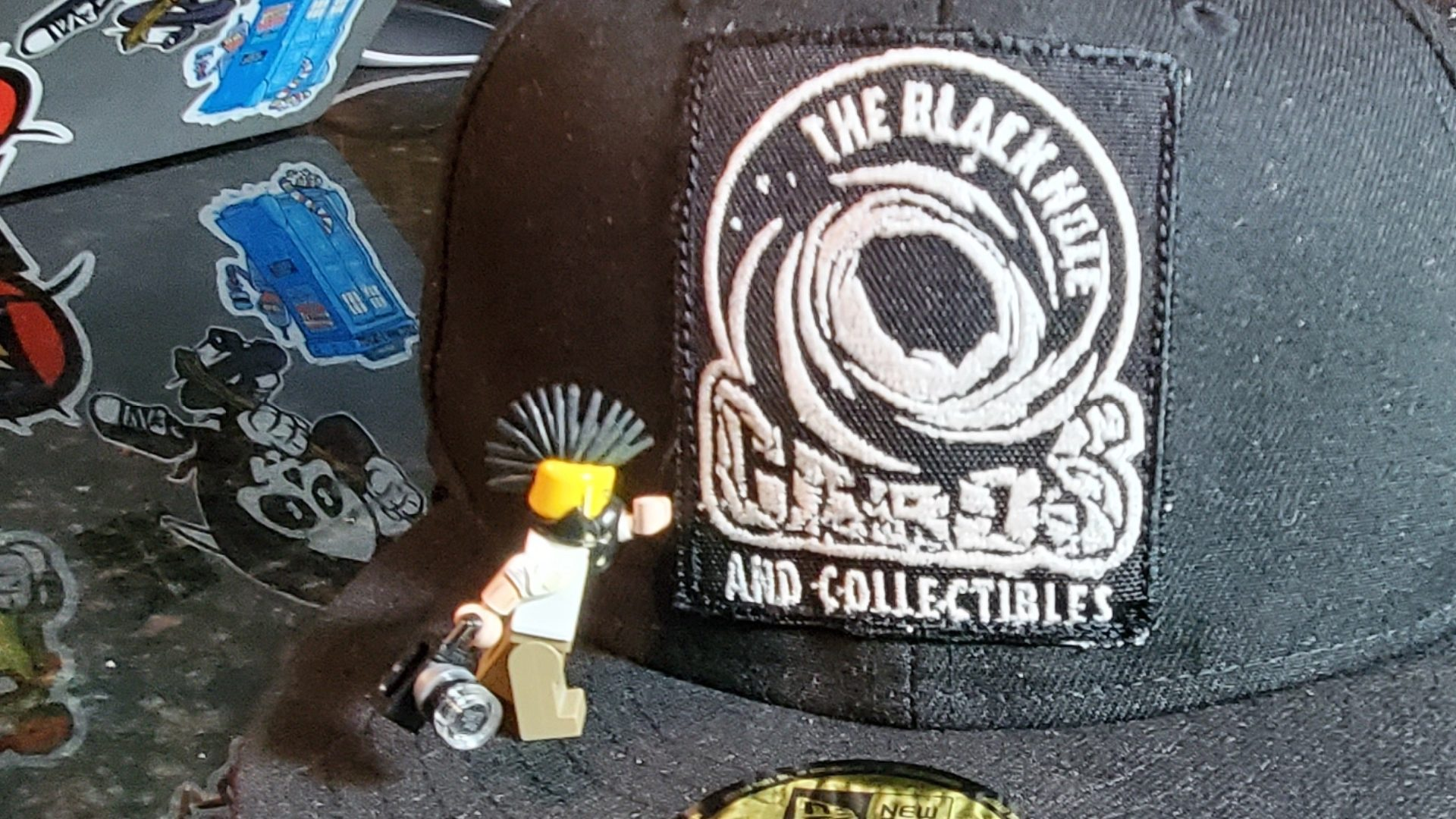 The Black Hole - Embroidered Hat (2)
