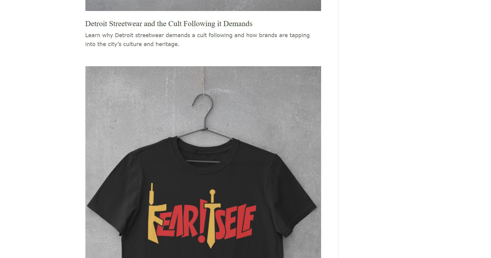 Fear Itself Clothing - Ecommerce Website (6)