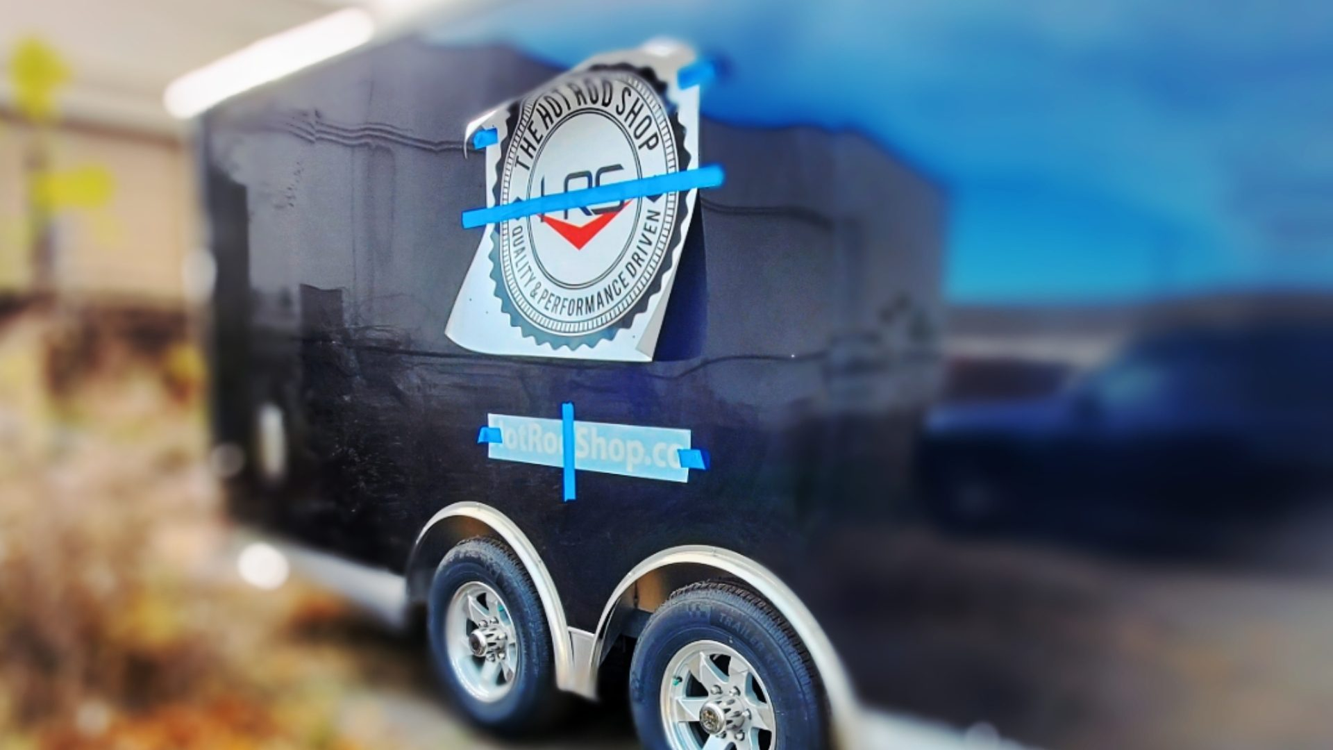 The Hot Rod Shop in Troy Michigan - Car Trailer Vinyl Graphics (11)