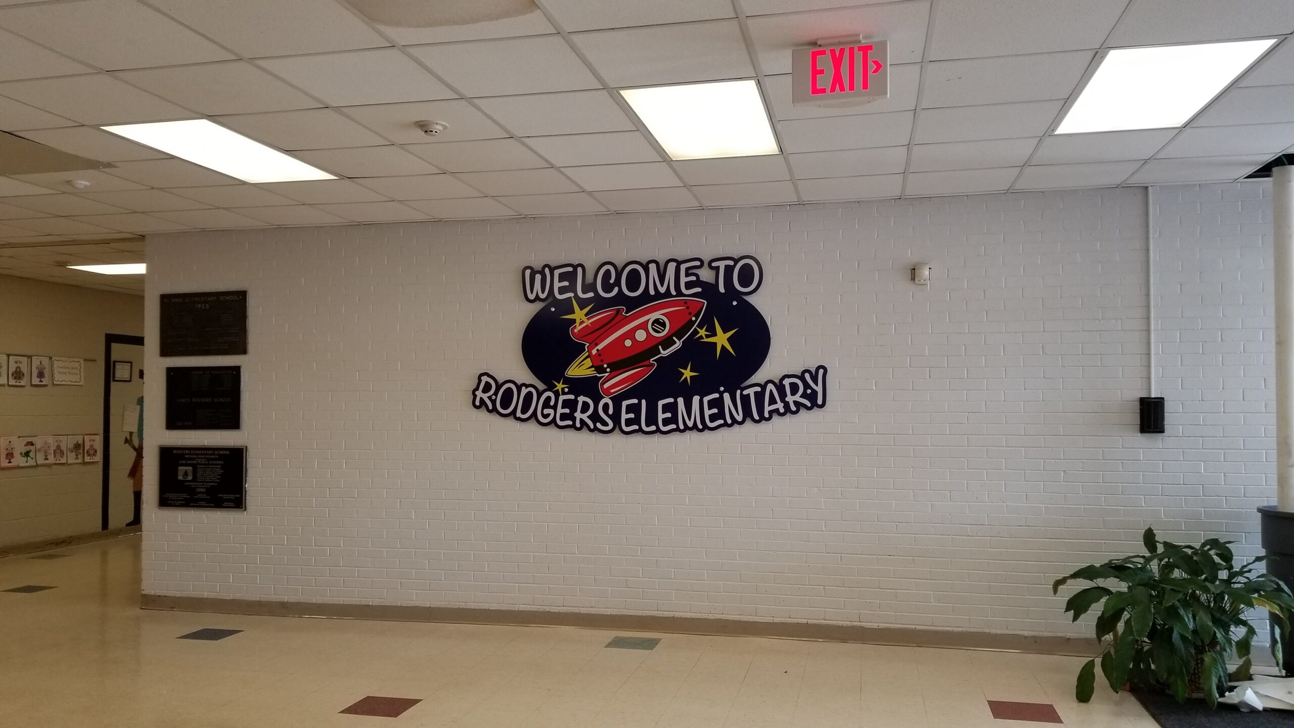 Rodgers Elementary School Sign