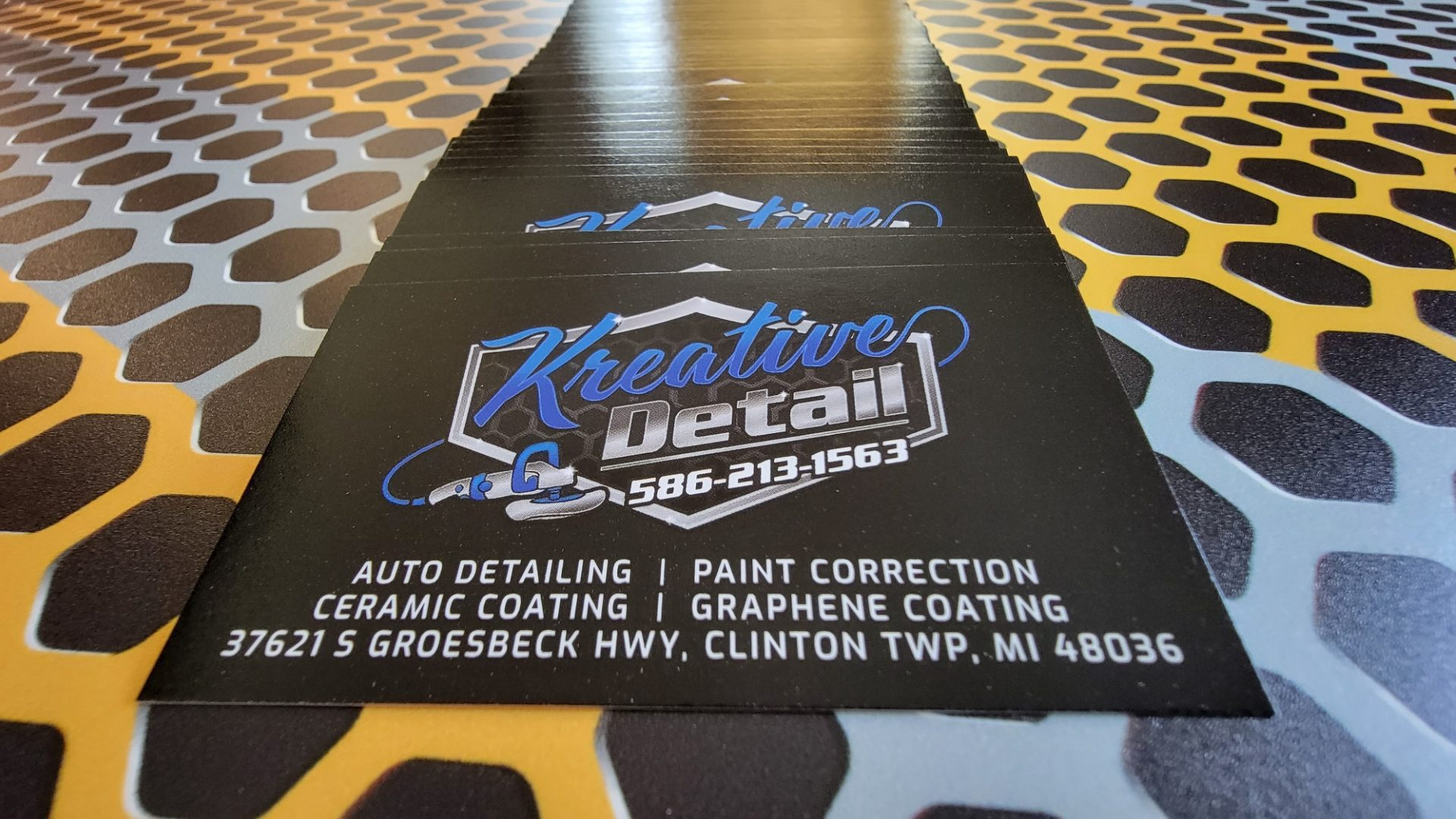 Auto Detailing Appointment Cards 5