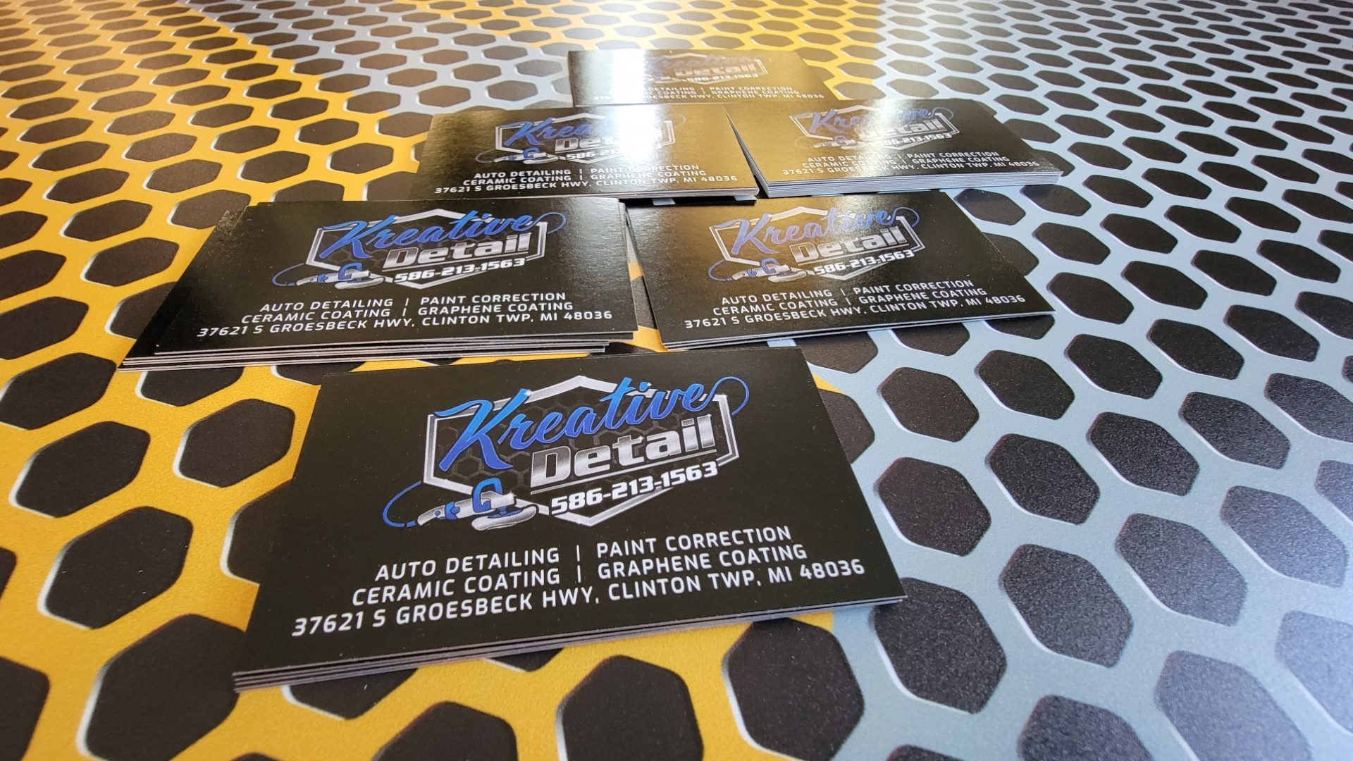 Auto Detailing Appointment Cards 6