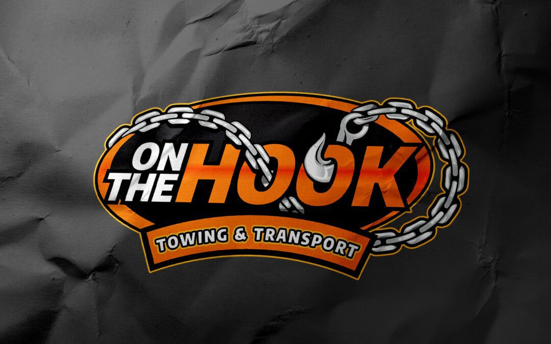 On The Hook Towing – Logo Design